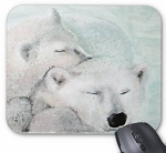 Cozy Bears Mouse Pad