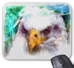 Art Eagle Mouse Pad