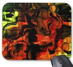 Color Abstract Mouse Pad