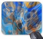 Color Spectrum Blue Mouse Pad