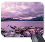 Purple Landscape Mouse Pad