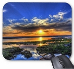 Sunset over Lake Mouse Pad