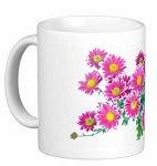 Mug - Pink Flower Bouquet