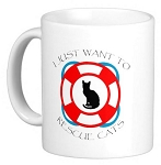 I just want to Rescue Cats Mug