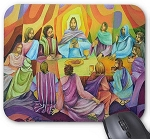 Mouse Pad - Supper at the Upper Room