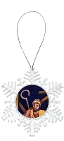 Snowflake Holiday Ornament - Joseph 6