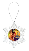 Snowflake Holiday Ornament - Wise Men 7