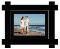 Imperial Black Wood Frame - 5x7 Photo