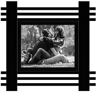 Temple Black Wood Frame - 8x10 Photo