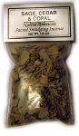 Native American Herbal Blends - Sage, Cedar & Copal