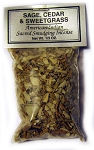 Native American Herbal Blends - Sage, Cedar & Sweetgrass