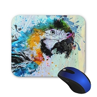 Mouse Pad - Blue & Gold Macaw 2