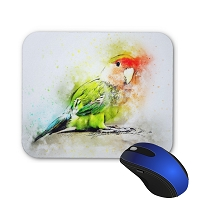 Mouse Pad - Lovebird 1