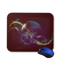 Fantasy Mouse Pad - Magenta Abstract
