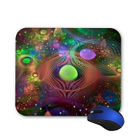Fantasy Mouse Pad - Fantasy Abstract