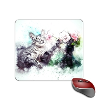 Mouse Pad - Tiger Cat