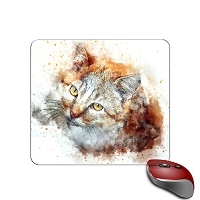 Mouse Pad - Orange Tabby