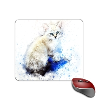 Mouse Pad - Simaese Kitten