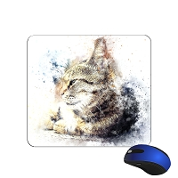 Mouse Pad - Striped Cat