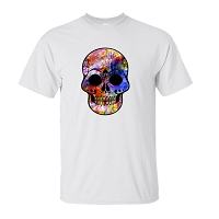 T-Shirt - Skull Abstract
