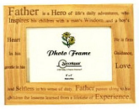 Wood Frame - Father