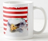 Mug - USA Flag with Eagle Painting