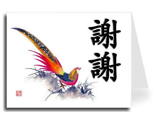 Спасибо по китайски картинки