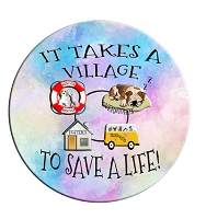 Window Sticker - It Takes a Village