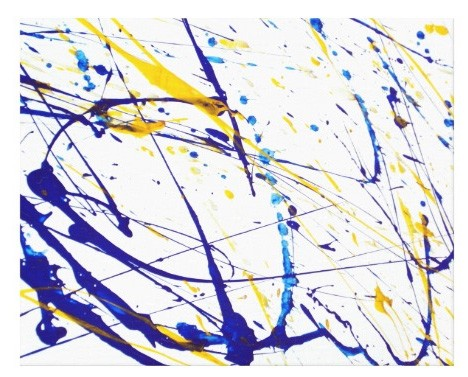 Canvas Print - Splatter Abstract