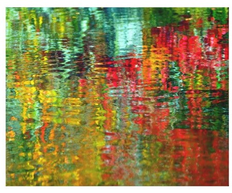 Canvas Print - Water Weave Abstract
