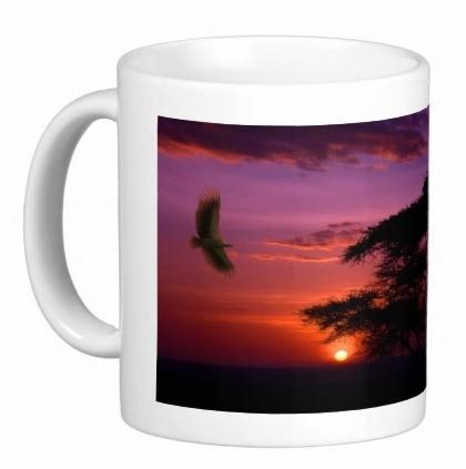 Mug - Eagle Sunset