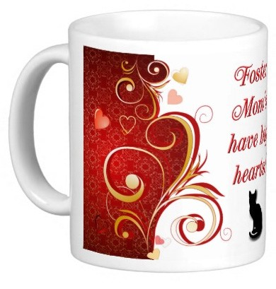 Foster Mom's have big hearts! Mug - Cat
