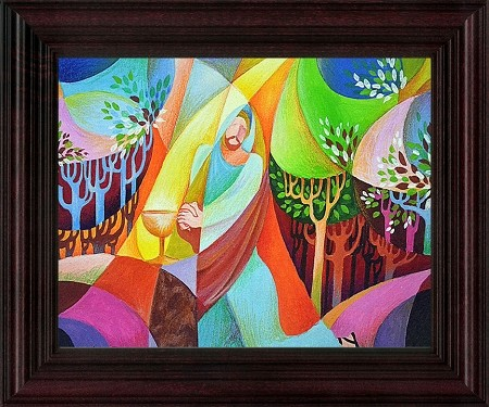 Framed Print - Agony in the Gethsemane