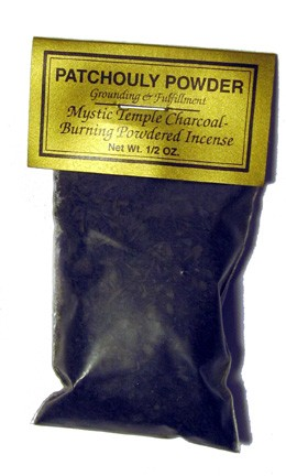 Patchouli Powder - Grounding & Fulfillment - 1/2 oz