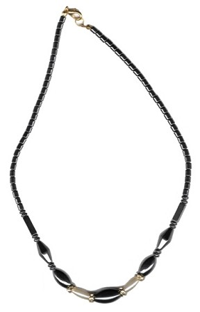 Hematite Necklace 18""