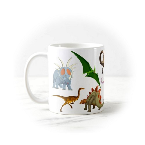 Mug - Dinosaur Collage #1